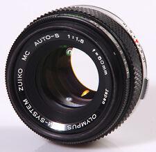 OBJECTIF 1,8/50mm OLYMPUS OM - OLYMPUS OM SYSTEM !!!!!!