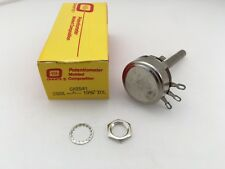 CA2541 Ohmite, 2 Watt 250K Ohm, Metal Rotary Potentiometer