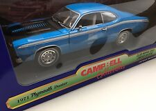 1971 Plymouth Duster Twister Special 1/18 Ertl 1 Of 600 Club Mopar 2003