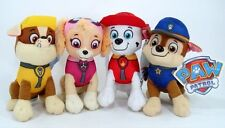 New Paw Patrol Plush Stuffed Animal Toy Set: Chase, Rubble, Marshall & Skye 8""