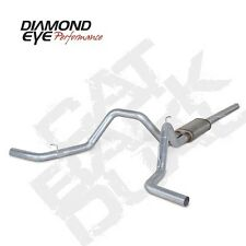 "Diamond Eye 3"" Alum Cat Back Dual Exhaust System 04-08 Ford F150 5.4L V8"