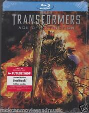 Transformers Age of Extinction Future Shop 2 Blu-ray + 1 DVD Steelbook SEALED