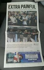 Cleveland Indians 2016 World Series Game 7 Recap Newspaper News Herald 11/3 Cubs