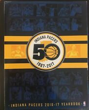2016 2017 INDIANA PACERS YEARBOOK PROGRAM BASKETBALL NBA FINAL CHAMP PAUL GEORGE