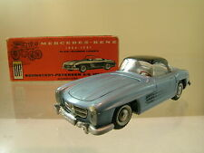 TEKNO DENMARK 925/169 MERCEDES-BENZ 300SL 1957 BLUE-BLACK+BOX  SCALE 1:43