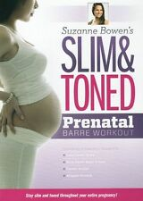 Pregnancy DVD - SLIM and TONED PRENATAL BARRE - Suzanne Bowen - 4 Workouts!
