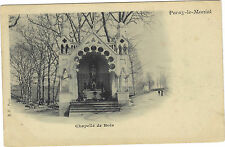 71 - cpa - PARAY LE MONIAL - Chapelle de Bois