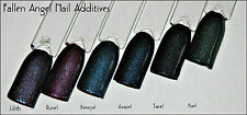 GNI Nail Additives® *Fallen Angel* 6 Pot Set�� Suitable for ALL Nail Mediums