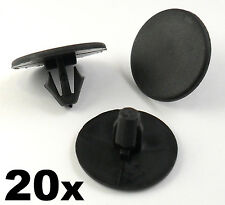 20x Peugeot Bonnet Insulation Retainer Clips- Plastic Trim Clips Bonnet Lining