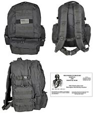 Deployment BackPack / Bug Out Bag /Tactical / Military / Survival Gear - BLACK
