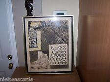 Salvador Dali Original Lithograph Reverie of Don Quixote In The Night 41 x 33 cm