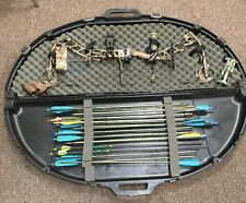 2015 Elite Energy 35 RH 80 LB Bow W/ Case and Arrows
