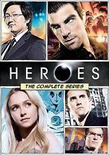 Heroes: The Complete Series - Seasons 1 2 3 4 [DVD Box Set, Region 1, 21-Disc]