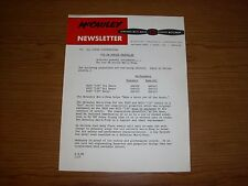 """McCauley Newsletter Tri Pacer *1957* """"Make a Racer out of the Pacer"""""""