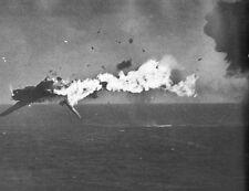 """USS Yorktown Gunners hit Japanese Torpedo Plane 8""""x 10"""" World War II 2 Photo 465"""