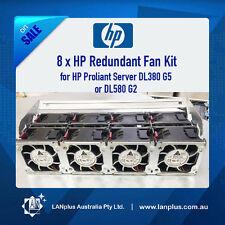 8 Genuine HP Redundant 12V Brushless DC FAN Kit DL380 G5 DL580 G2 P/N:394035-001