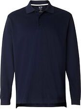 Adidas Golf Men's ClimaLite Tour Piqué Long-Sleeve Polo - Officially Licensed