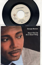 George Benson Never Give up On A Good Thing Livin' Inside Your Love WB 45