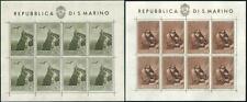 ** San Marino 1944: Foglietti PRO CASE POPOLARI [Non Piegati; MNH XF] €700