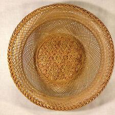 Bamboo Thailand Hand Woven Bun/Egg/Fruit/Bread/Decorative Basket