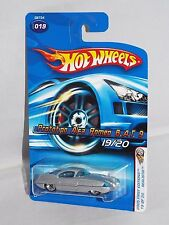 Hot Wheels 2005 First Editions Blings #19 Prototype Alfa Romeo B.A.T. 9 Silver