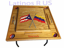 Puerto Rico & Venezuela Domino Table