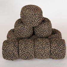 *500g*WOOL BLEND YARN* Aran/DK. Black.Brown.Beige.Tweed marl.double knitting.