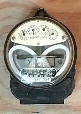 Antique/Vintage General Electric I-16 Watt Hour Meter #10