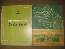 1969 CHEVROLET HEAVY DUTY TRUCK SERVICE REPAIR SHOP MANUAL 70-80 SERIES AND MORE