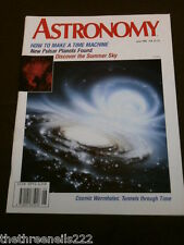 ASTRONOMY - HOW TO MAKE A TIME MACHINE - JUNE 1992