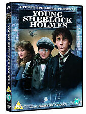 Young Sherlock Holmes (DVD)by Steven Spielberg - The Game Is A foot - New Sealed