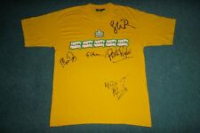 VINTAGE HAPPY MONDAYS 1990S SIGNED T-SHIRT ORIGINAL MADCHESTER BAGGY INDIE TOUR