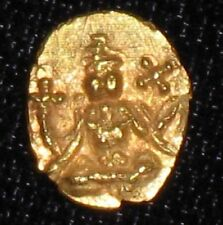 18th  - 19th Century Gold Fanam from Travancore, India.  No Reserve!