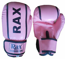 6 OZ Kids Boxing Gloves Punch Bag Sparring Training Mitts MMA MuayThai Grappling