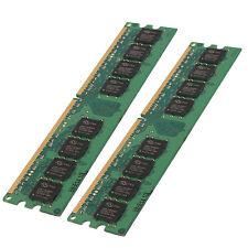 2x 1gb 2gb SD RAM PC Memory 533 MHz ddr2 pc2 4200 4200u 240 pin DIMM de memoria