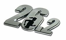 Female Runner 26.2 Mile Marathon Chrome Car Auto Truck Emblem Made in the USA