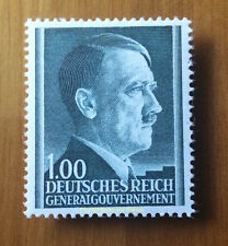 EBS Generalgouvernement 1944 Adolf Hitler 1 Zloty MNH Michel 86B**