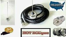 RACECAR RADIO ROOF MT ANTENNA 1/4 WAVE  450-470 UHF W/HYT BNC