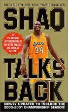 Shaq Talks Back by O'Neal, Shaquille, Good Book