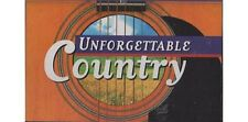 Unforgettable Country - Tape 1 ~ Various Artists ~ Cassette ~ New