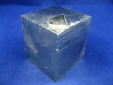 Pyrite - Large, All-Natural, Rare Pyrite Cube Crystal from Navajun Spain
