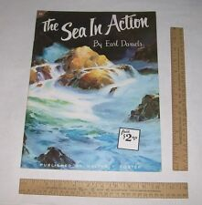 83 - The SEA IN ACTION - Earl Daniels - Published by Walter T Foster