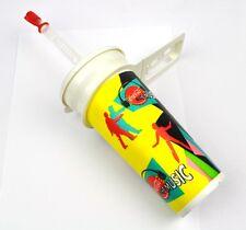Coca-Cola Coke 0,5 l Vasos Tumbler+Cubierta Pajita para beber Música Motivo