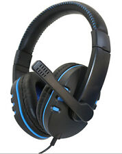 Wired Gaming Headset Headphone with Microphone for Sony PS4 PlayStation 4 and PC