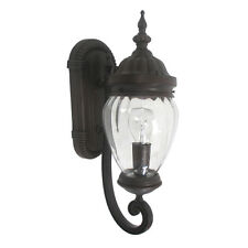 "Venetain Bronze Exterior Wall Light Fixture 18.75"" x 6.25"""