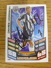 2012/2013 Autograph: West Bromwich Albion - Morrison, James [Hand Signed 'Topps