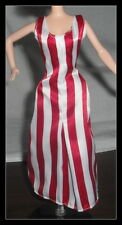 DRESS MATTEL BARBIE DOLL AFTER THE WALK COCA COLA WHITE & RED DRESS CLOTHING