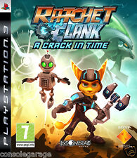 Ratchet & Clank: A Crack In Time   PS3 Used In  Working Condition