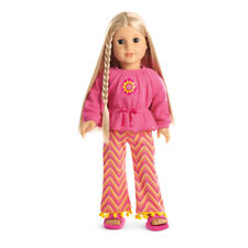 "American Girl JULIE ZIGZAG PAJAMAS for 18"" Dolls Beforever Clothes Julie's NEW"