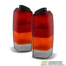 1997-2001 Jeep Cherokee Replacement Tail Lights Brake Lamps 97-01 Set Left+Right